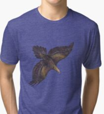 ICON ~ TAZZIE TALES OF - Eagles in Peril by tasmanianartist Tri-blend T-Shirt
