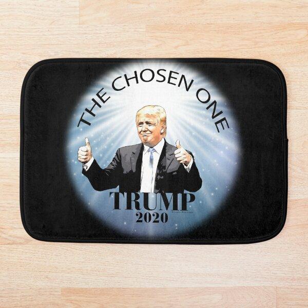Trump 2020 The Chosen One Bath Mat