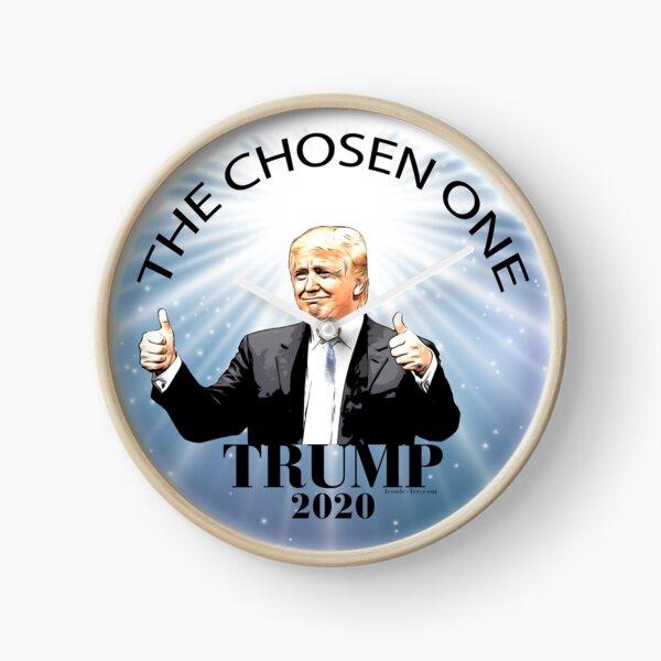 Trump 2020 The Chosen One Clock