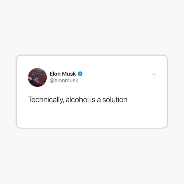 Elon Musk Tweet Sticker