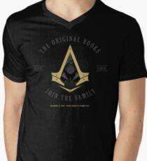 The Rooks Est. 1868 Men's V-Neck T-Shirt