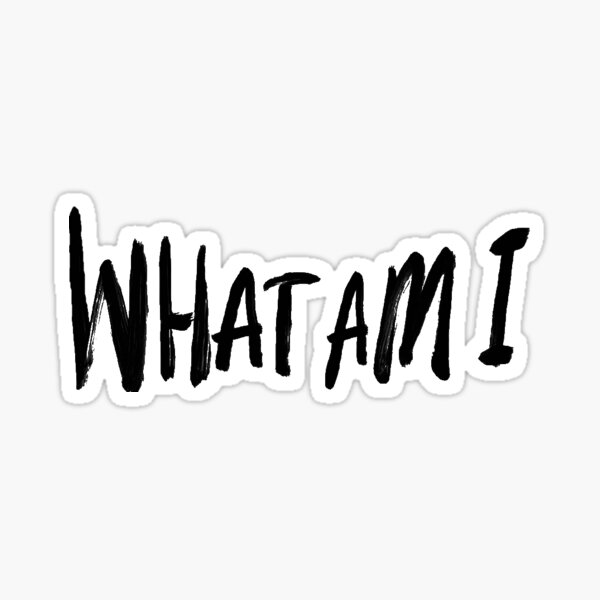 What Am I - Why Don't We Sticker