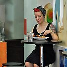 Barcelona-Colorful Diner by milton ginos
