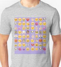 pastel purple emoji Unisex T-Shirt