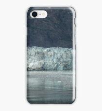 Marjory Glacier in colour (boat for size comparison) iPhone Case/Skin