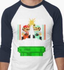 Mario Bros. Plumbing  Men's Baseball ¾ T-Shirt