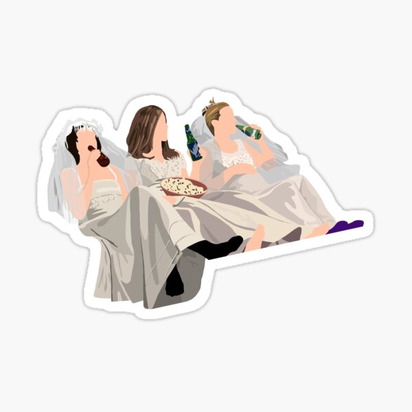 Wedding Dresses Sticker
