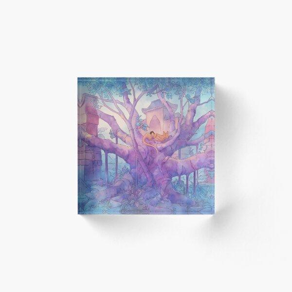 The Banyan Tree Acrylic Block