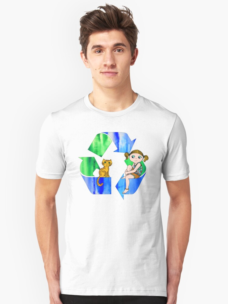 Live Like You Love the Planet Unisex T-Shirt Front