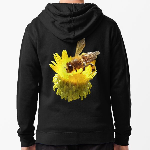 Honey Bee Zipped Hoodie