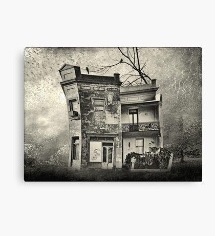 mr crumbles corner shop Canvas Print