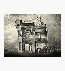 mr crumbles corner shop Photographic Print