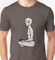 Meditating Man Slim Fit T-Shirt