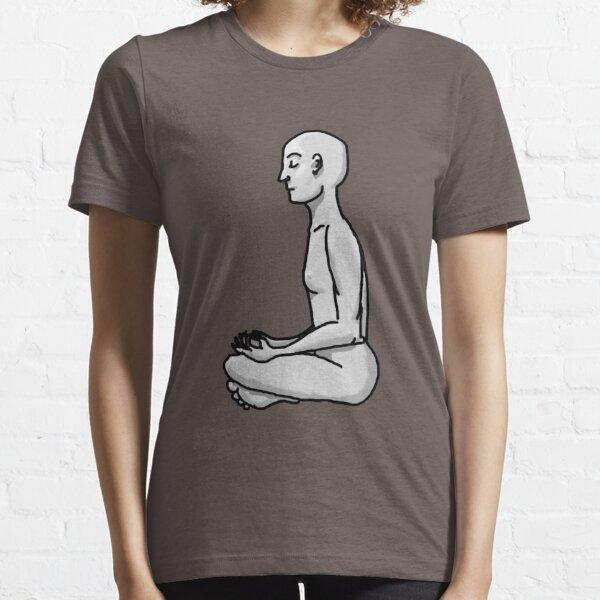 Meditating Man Essential T-Shirt