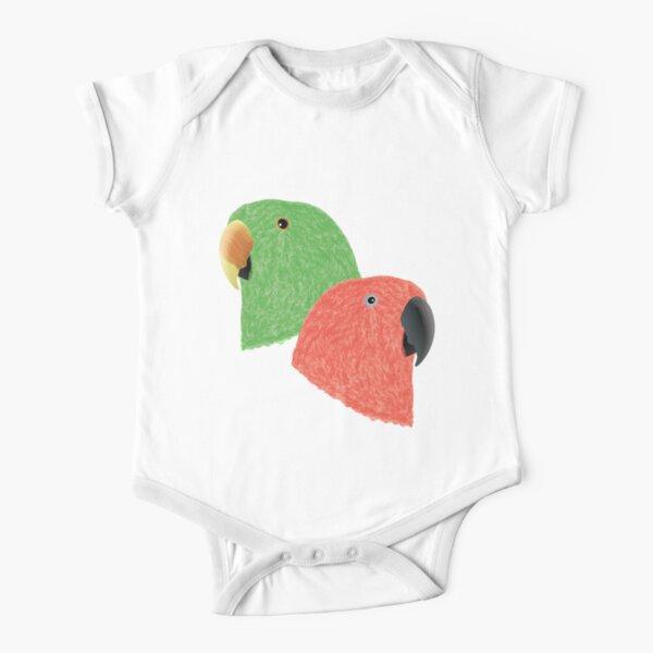 I Love You Caique Parrot Baby Boys Girls Long Sleeve Baby Onesie Bodysuit
