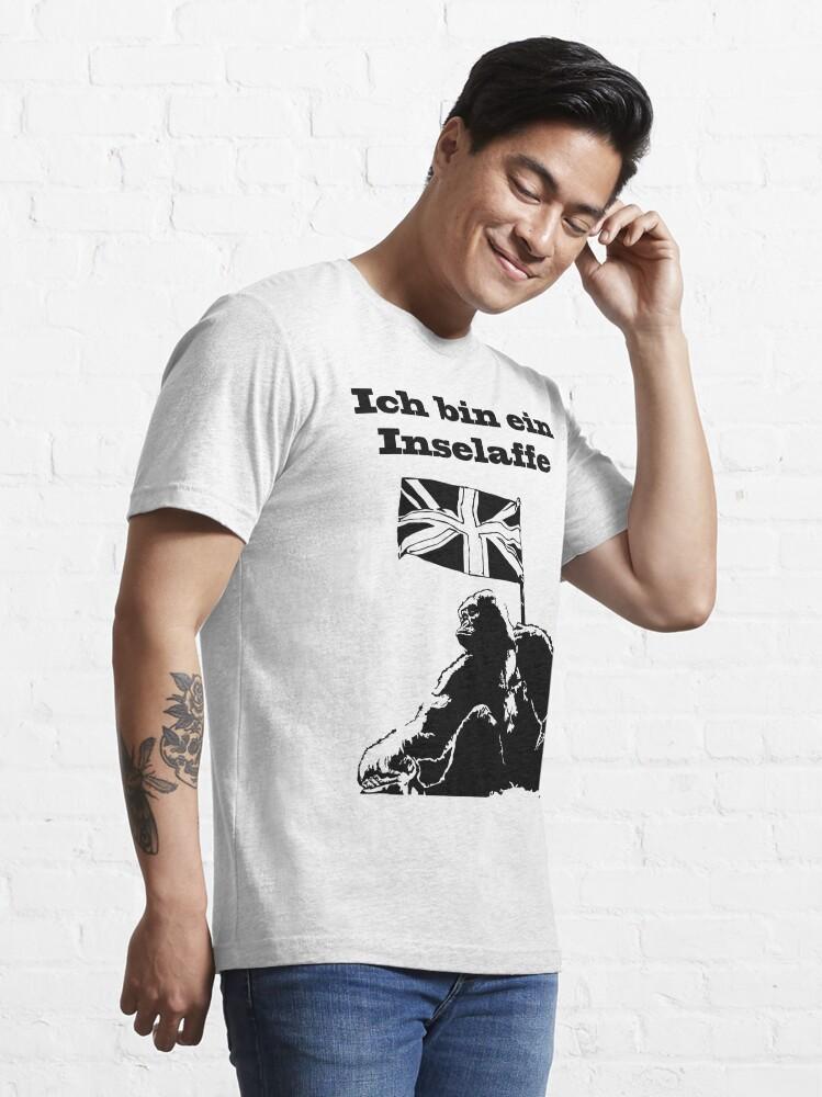 Alternate view of Ich bin Inselaffe Essential T-Shirt