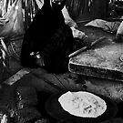 Making flatbread by Andrey Kudinov