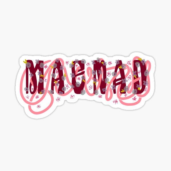 #TeamMaenad Sticker
