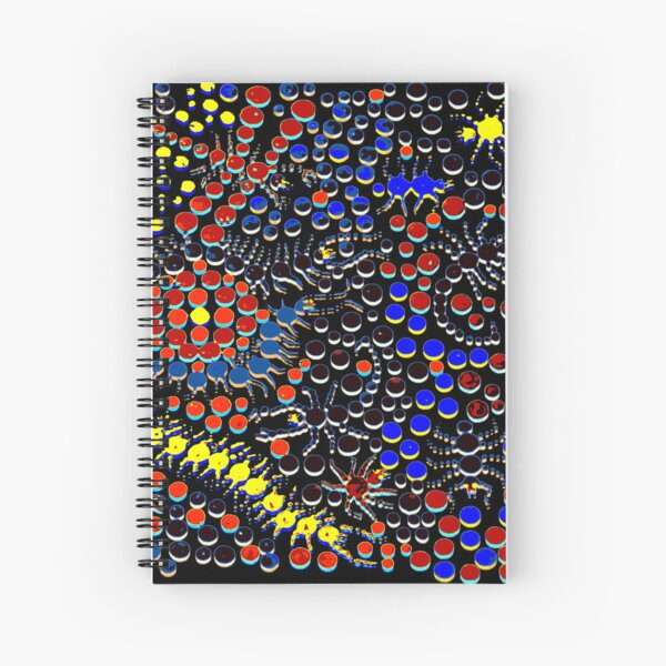 Hide and Creep Spiral Notebook