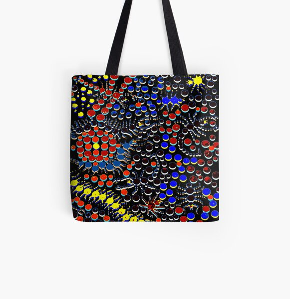 Hide and Creep All Over Print Tote Bag