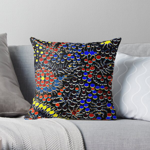 Hide and Creep Throw Pillow