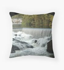 Double Falls Throw Pillow