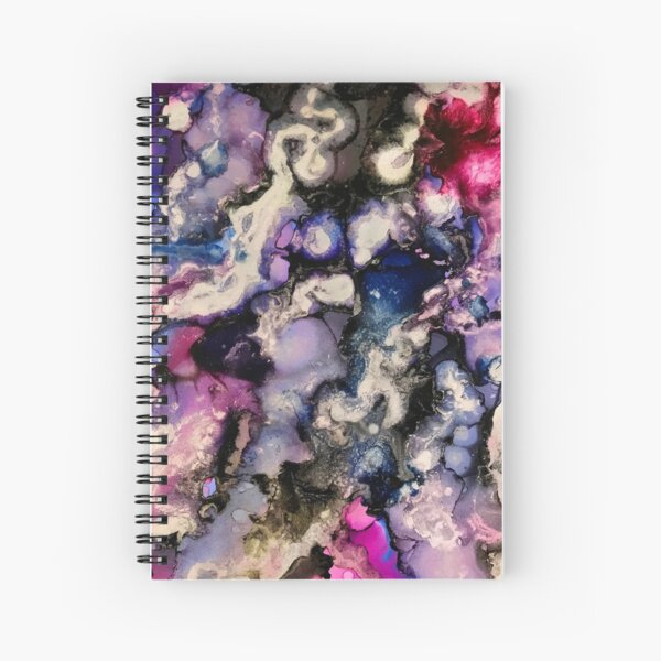 Swirling Thoughts Within My Mind Spiral Notebook