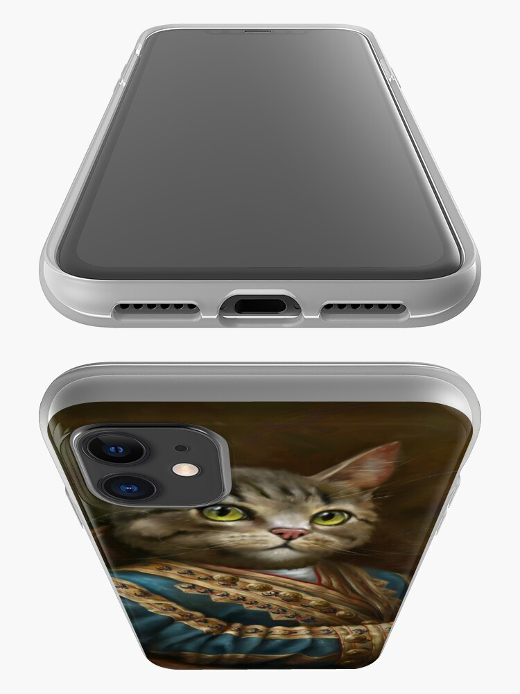 Alternate view of The Hermitage Court Outrunner Cat, alternative proportions iPhone Case & Cover
