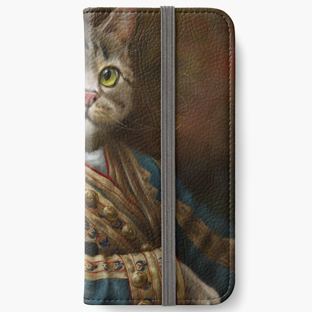 The Hermitage Court Outrunner Cat, alternative proportions iPhone Wallet