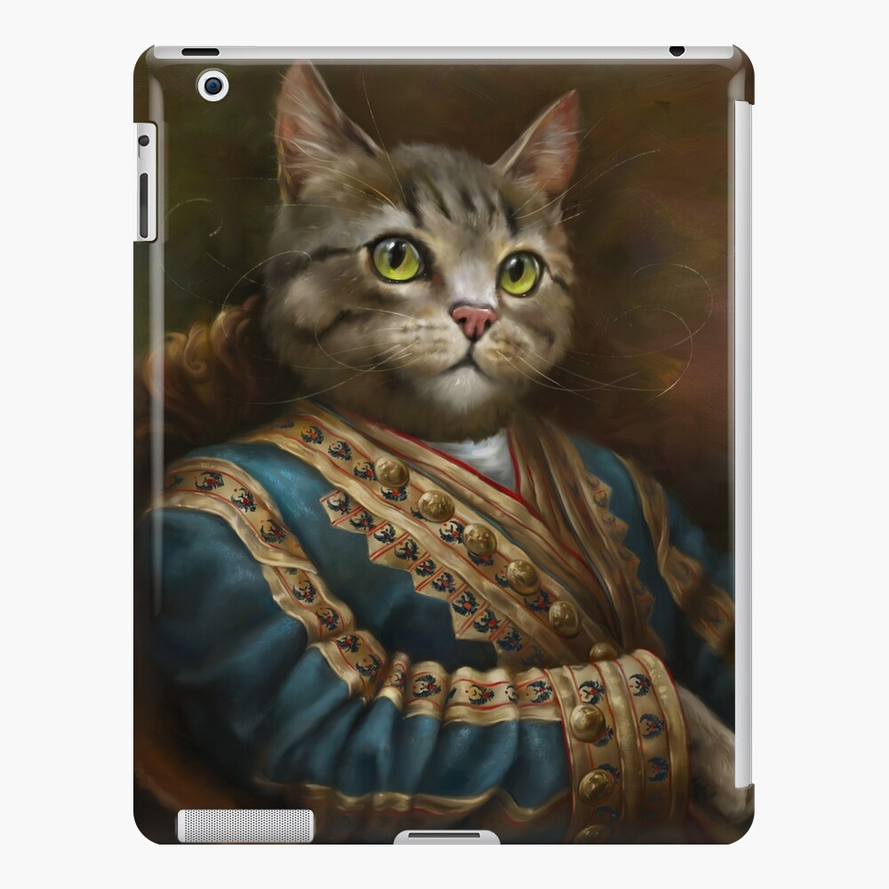 The Hermitage Court Outrunner Cat, alternative proportions iPad Case & Skin