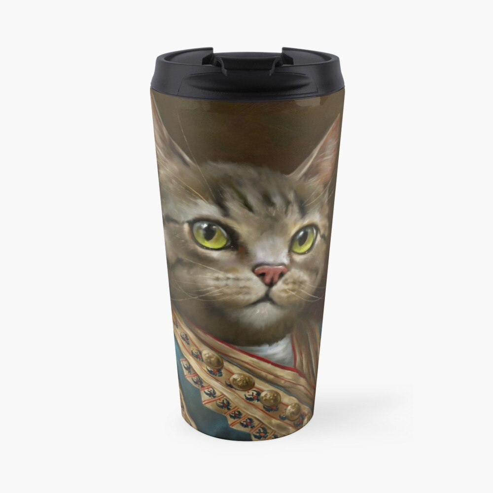 The Hermitage Court Outrunner Cat, alternative proportions Travel Mug