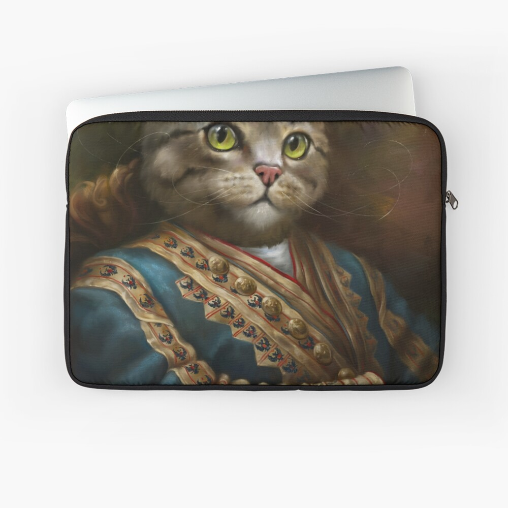 The Hermitage Court Outrunner Cat, alternative proportions Laptop Sleeve