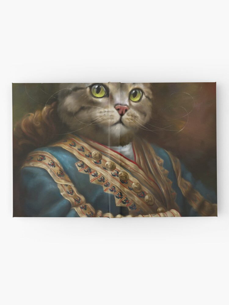 Alternate view of The Hermitage Court Outrunner Cat, alternative proportions Hardcover Journal