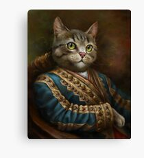 The Hermitage Court Outrunner Cat, alternative proportions Canvas Print