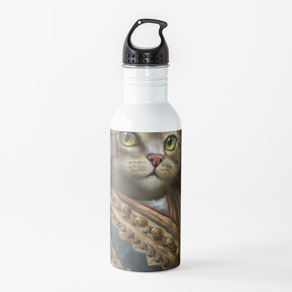 The Hermitage Court Outrunner Cat, alternative proportions Water Bottle