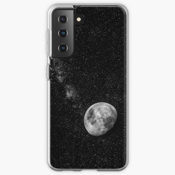 Space Moon Glow Samsung Galaxy Soft Case