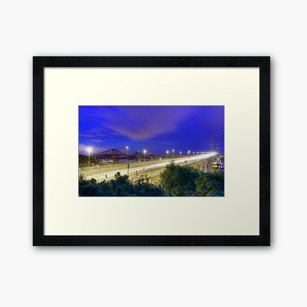 Forth Bridges Framed Art Print