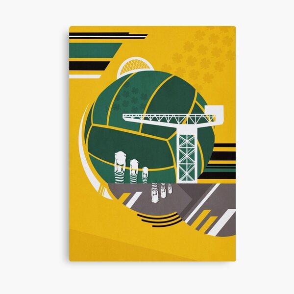 Glasgow Poster  Canvas Print