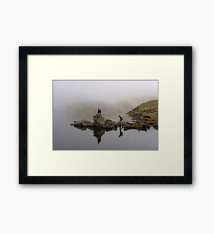 Reflective Moods Framed Print
