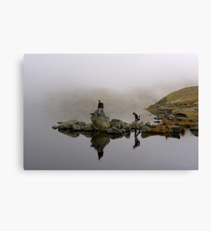 Reflective Moods Canvas Print