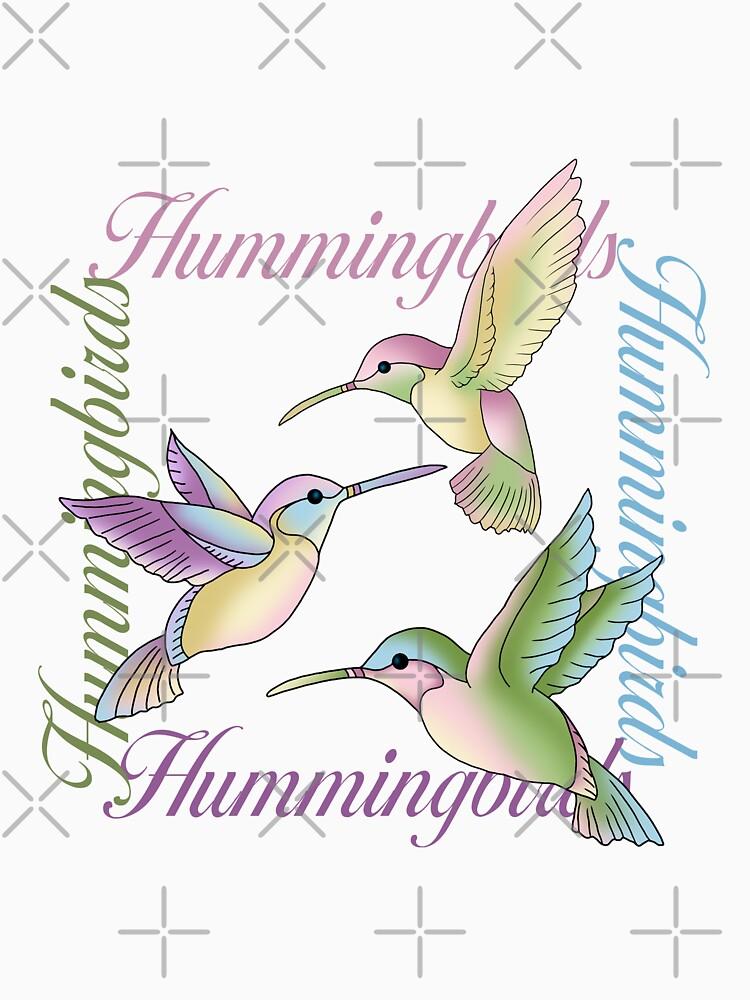 Hummingbird Flutterings by annielang