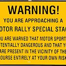 Rallying is dangerous! by Tom Gregory