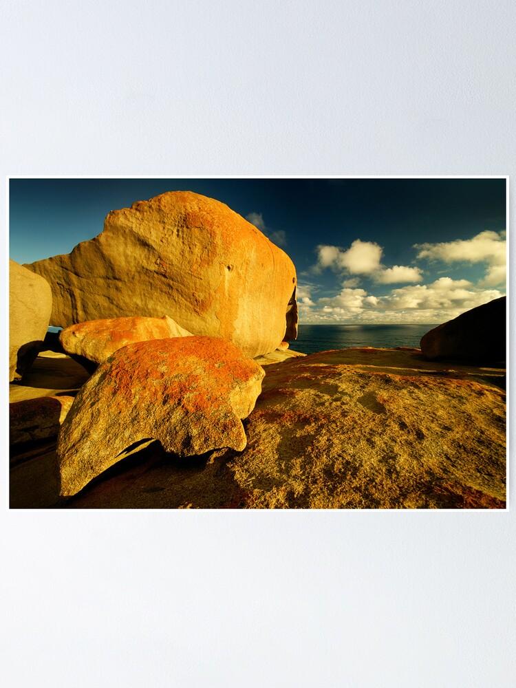 Alternate view of South Australia landscape serie 07 Poster