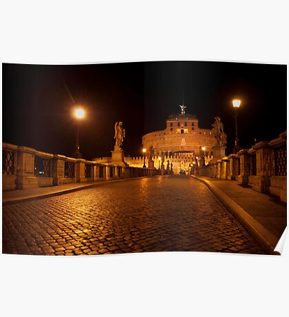 Sant'Angelo by night Poster