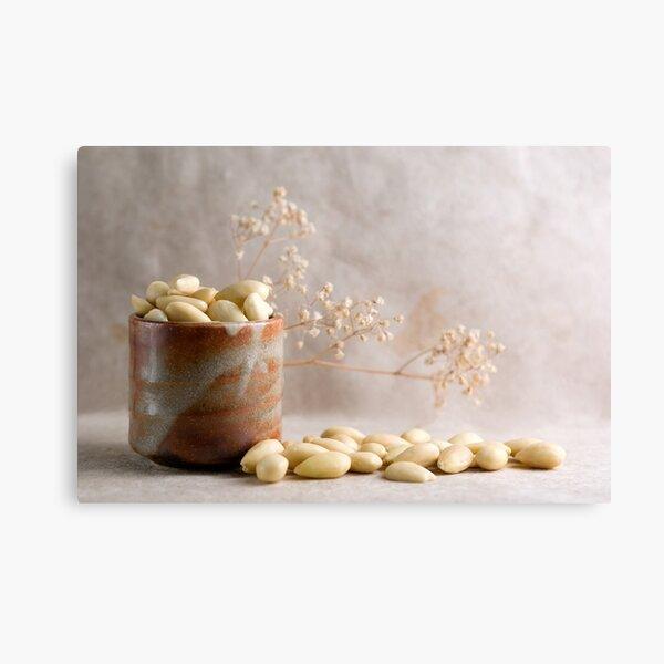 Barrel full of Almonds Canvas Print