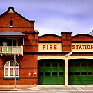 Fire Station by Raoul Isidro