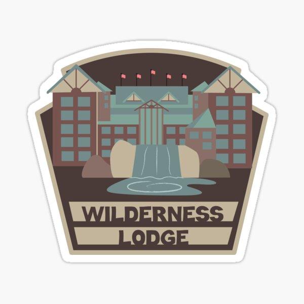 Wilderness Lodge Sticker