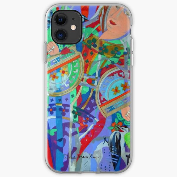 Queen of the Birch Trees iPhone Soft Case