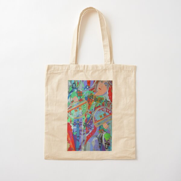 Queen of the Birch Trees Cotton Tote Bag