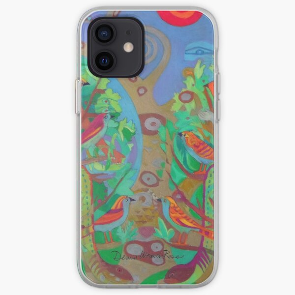 Two Trees and Fig Leaves in the Garden of Desire iPhone Soft Case